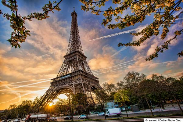 The capital of France offers many attractions.